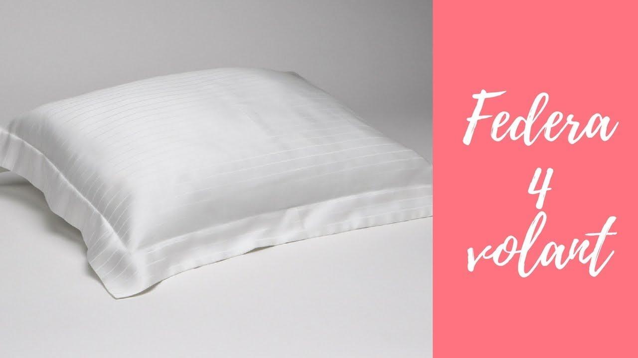 Come Confezionare Un Cuscino Per Sedia.Come Cucire La Federa A 4 Volant Teaser Youtube