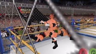 RKO OUTTA NO WHERE! (Caged War Games - Wrestling Revolution 3D)