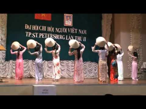 Đại hội cộng đồng người Việt Nam tại Saint Petersburg   Múa Một thoáng quê hương