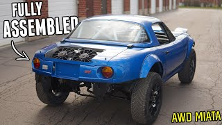 homepage tile video photo for The AWD MIATA is ALMOST FINISHED!