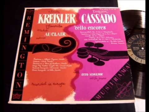 Pugnani-Kreisler: Praeludium & Allegro - Michèle Auclair (1953) Remington LP R199-128