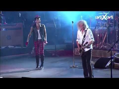 I Want It All & Radio GaGa Rock in Rio HD Queen Adam Lambert