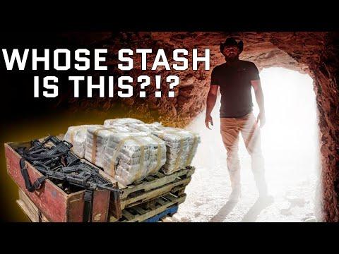 We Found ACTUAL Buried Treasure In The Desert!