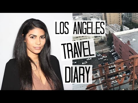 Car Vlogging in LA + Hotel Room Tour   Los Angeles Travel Diary