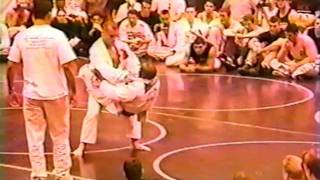 Vintage BJJ Match Matt Serra vs Babs Olusanmokun