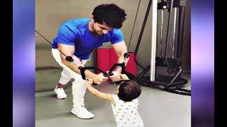 Salman Khan Nephew Ahil Workout Video With Aayush Sharma