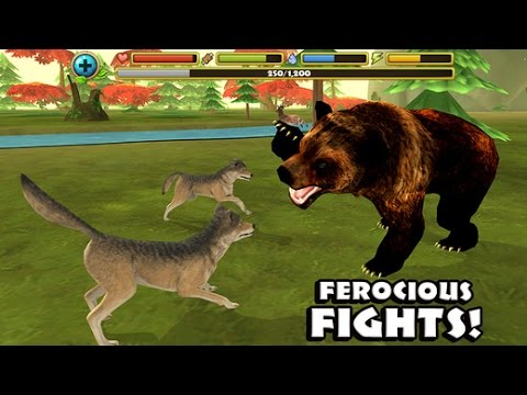 Wildlife Simulator: Wolf - iPhone, iPad, and iPod touch. This app is optimized for iPhone 5.