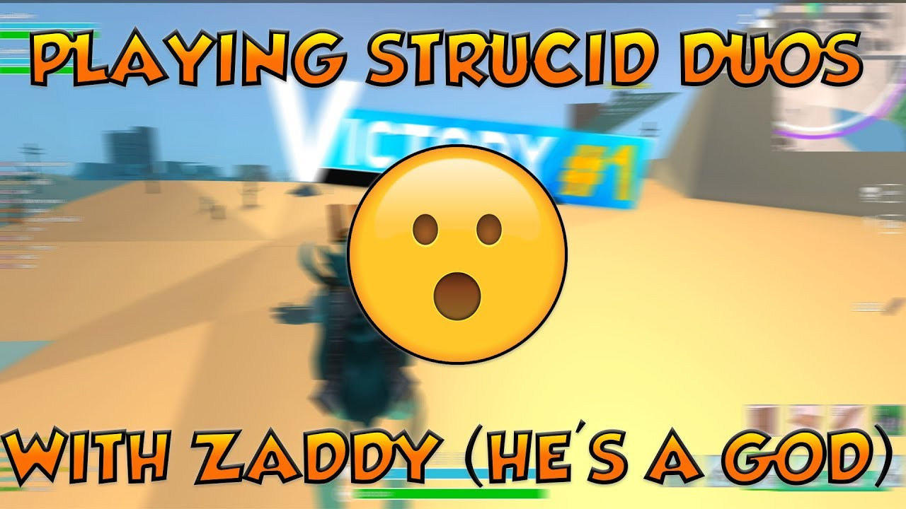 Strucid battle royale duos with Zaddy... (roblox) - YouTube