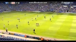 falcao goal vs leicester city 27 07 2013