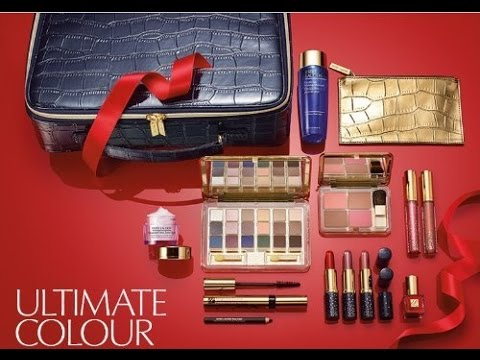 estee lauder cosmetic kit holiday makeup set haul