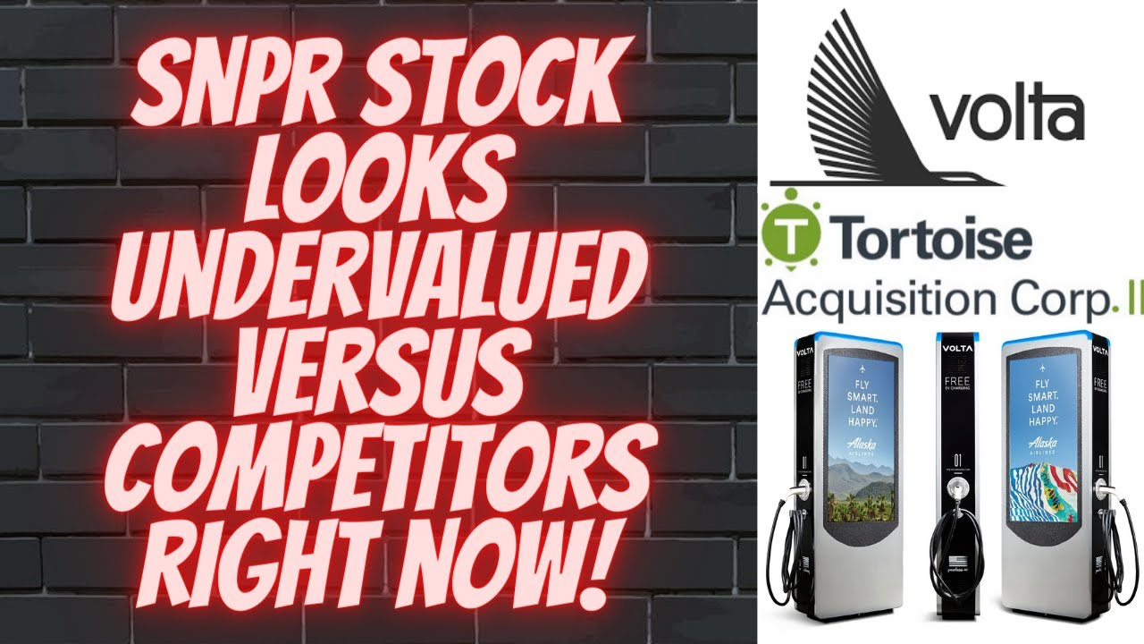 Download SNPR Stock, Volta EV Charging, Undervalued Versus Competitors, Solid Revenue, Superior Product!