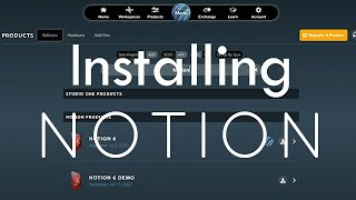 Installing and Activating Your Notion Account