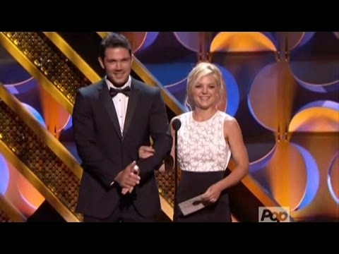 2015 Daytime Emmys  Ryan Paevey & Kirsten Storms