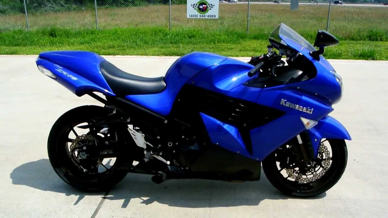 2006 Kawasaki ZX14 Ninja Candy Thunder Blue: Overview and Review ...