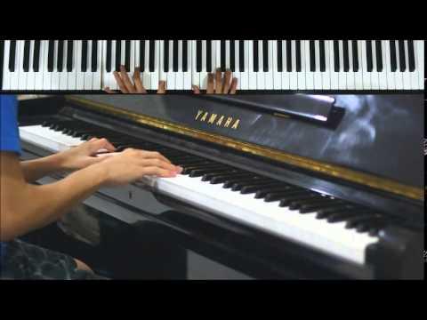 Ada Band - Setengah Hati (Piano Cover) + Tutorial