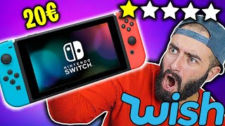 UNBOXING NINTENDO SWITCH 2 di WISH da 20€ *esplode?* - OFFERTE