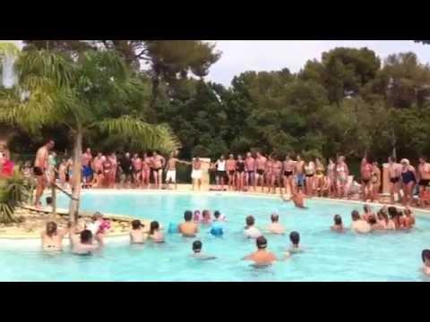 Camping de la pascalinette la danse de la piscine for Camping de la piscine aigle