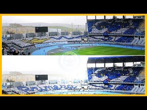 Tifo Ultras Hercules : IR Tanger vs. Youssoufia Berrechid - 13/12/2014