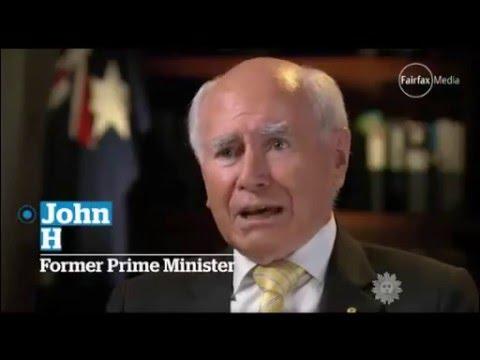 Former Australian Prime Minister John Howard speaks to US TV about Australia's gun laws