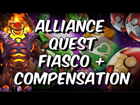 Alliance Quest Tier Fiasco + Compensation - Marvel Contest Of Champions