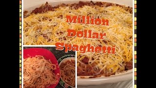 Million Dollar Spaghetti ( Quick and Easy Family Dinner Recipe)
