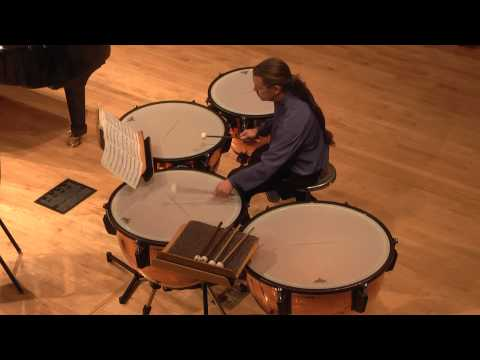 from Eight Pieces for Four Timpani - Canaries (Elliott Carter) - The Playground Ensemble