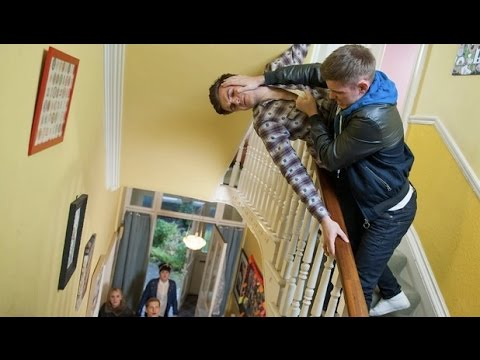 Hollyoaks January 26th 2015 (Ste confronts Connor)