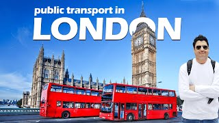 Public Transport in London | Train/Bus Taxi | Europe Trip EP-3