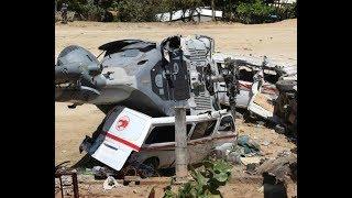 Caída de helicóptero en Oaxaca thumbnail