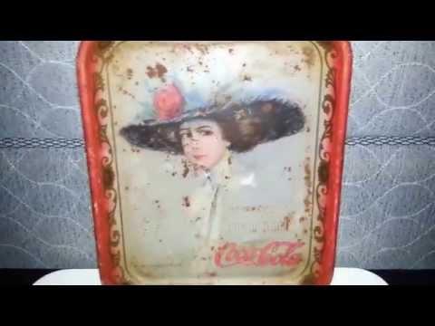 Flea Market/Thrift Store/Ebay Haul 07/12/14:Vintage Toys, Mid Century Modern, Vintage Coca Cola Tray