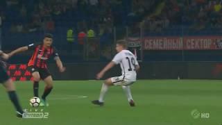 El brasileño Taison marcó un magnífico gol que le dio el tr…