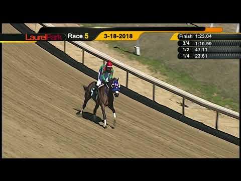 Laurel Park 3 18 18  Race 5