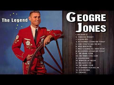 George Jones Greatest Hits (Full Album) - The Best Songs of George Jones Country Music