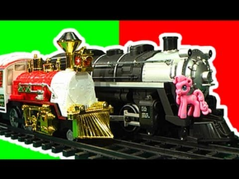 Model Railroad Train Track Plans -Amazing Black Canyon Brony Express Vs Holiday Express Toy Trains