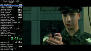 The Matrix: Path of Neo Any% in 3:50:27