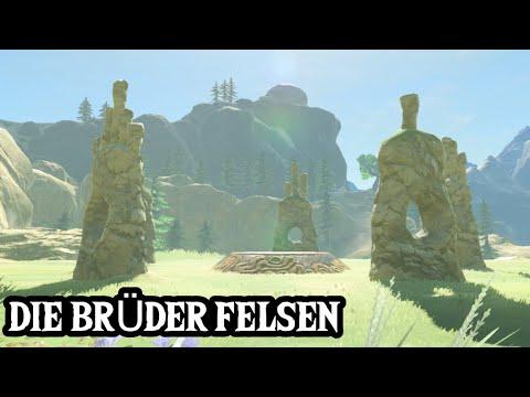 ZELDA: BREATH OF THE WILD - Schrein-Quest - Die Brüder-Felsen / Uuta-Do-Schrein Guide