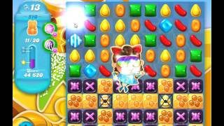 Candy Crush Soda Saga Level 510 new design