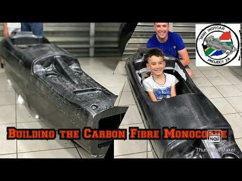 Stage 8  Building The Carbon Fibre Monocoque