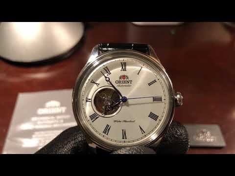 FAG00003W0 Orient Automatic with Hand Winding - Open Heart dial - English version