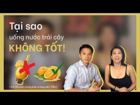 TẠI SAO UỐNG NƯỚC TRÁI CÂY KHÔNG TỐT | MC Nguyễn Cao Kỳ Duyên Cùng Bác Sĩ Nguyên Trần