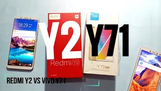 Redmi Y2 speed test with Vivo Y71 | who wins