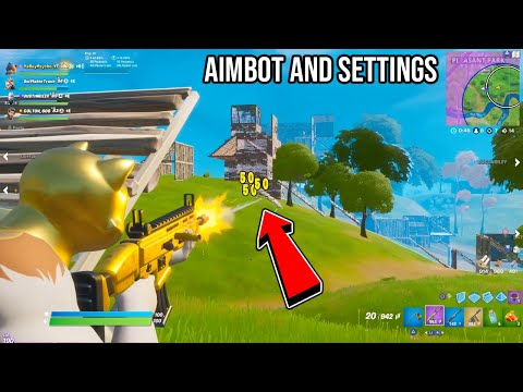 BEST CONTROLLER SETTINGS For LINEAR AIMBOT (Ps4/Xbox/PC) | Fortnite YaBoyPsycho Settings