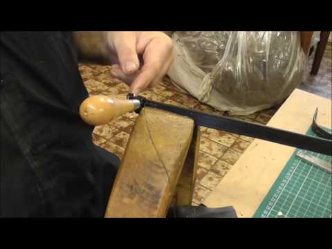 how to stitch leather keepers