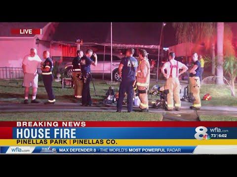Pinellas Park house fire