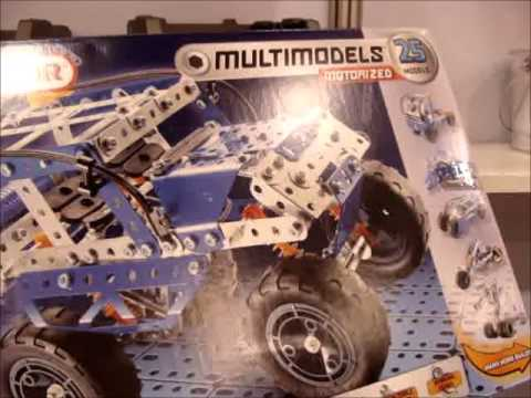 Meccano Erector Sets making a comeback