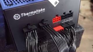 Unboxing Thermaltake Toughpower Grand RGB Fully modular 750W 80 plus Gold