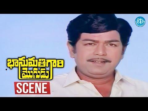 Bhanumathi Gari Mogudu Scenes - Giribabu Asks Balakrishna To Stay As Vijayashanti's Husband