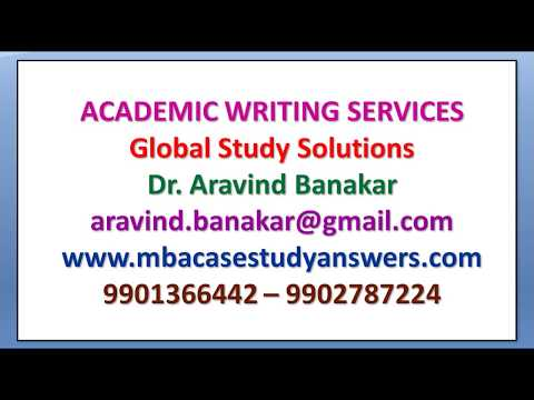 MBA ISBM CASE STUDY ANSWER SHEETS