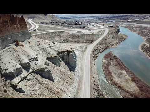 Drone Green River, Wyoming