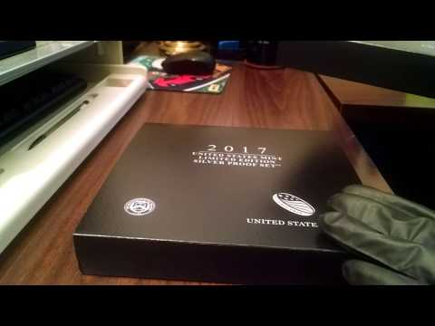 2017 US MINT Limited Edition Silver Proof Set with S Mint Mark & Enhanced Quarters!
